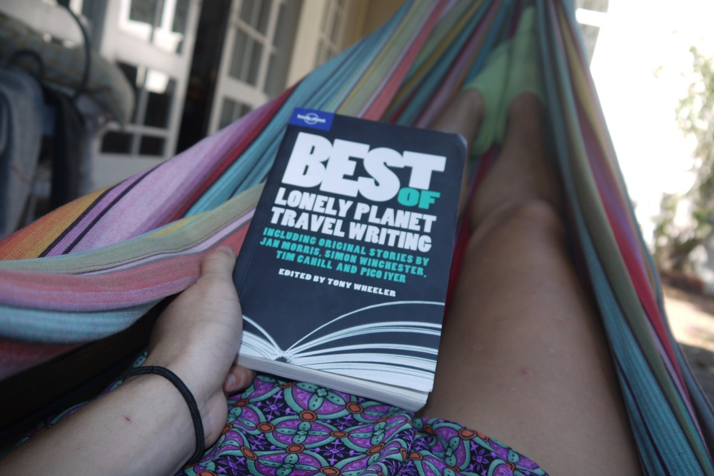 lonely planet travel guide book hammock